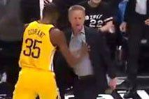 Steve Kerr flips out and gets ejected as Warriors gets crushed