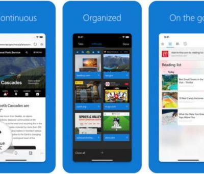 Microsoft Edge For iOS Updated With 3D Touch Support