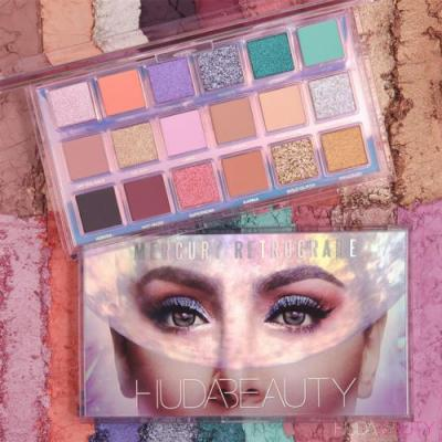Huda Beauty Mercury Retrograde Eyeshadow Palette for Holiday 2019