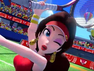Mario Tennis Aces to welcome Pauline, Luma and Boom Boom to the courts