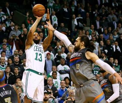 Marcus Morris Drills Game-Winning Three To Beat Thunder