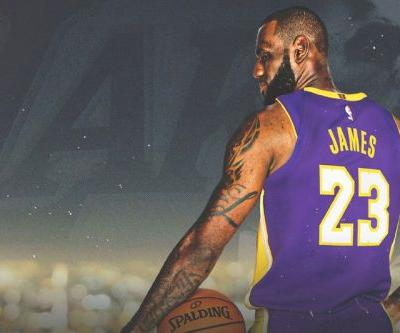 LeBron James Officially Signs Four-Year, $154M USD Lakers Contract