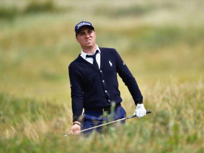 Justin Thomas falls out of Open Championship contention with quintuple bogey 9