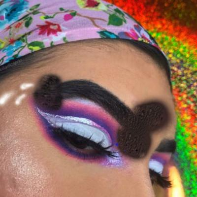 Forget squiggle brows, maybe the penis brow is autumn's biggest beauty trend