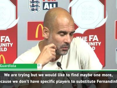 Guardiola looking for Fernandinho back up at Man City
