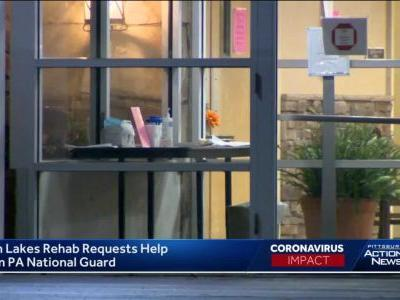 Twin Lakes Rehabilitation and Healthcare Center requests assistance of Pa. National Guard