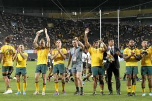 Australia turns clock back to 2015 RWC for Wales match