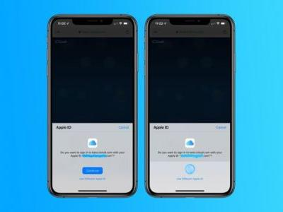 Apple is testing Face ID and Touch ID sign in for iCloud in IOS 13 and macOS Catalina
