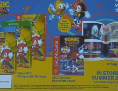Sonic Mania Plus, a retail version of Sonic Mania, announced for this Summer
