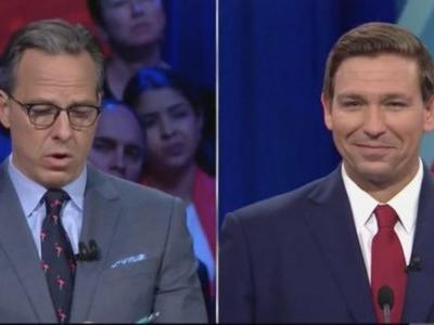 Jake Tapper Responds to Trump's Florida Debate Tweet: 'Thanks for Watching CNN, Mr. President!'