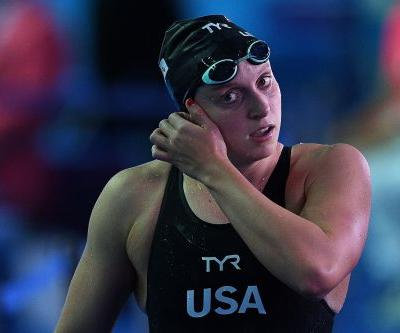 Katie Ledecky withdraws from 2 events at world championships due to illness