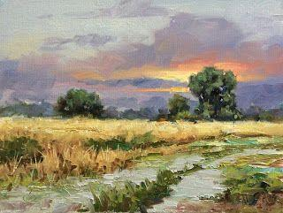 9x12 OIL PAINTING, ONE DAY SALE by TOM BROWN
