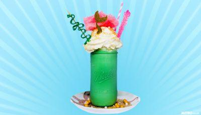 You can now eat and drink like Ariel at this magnificent mermaid cafe