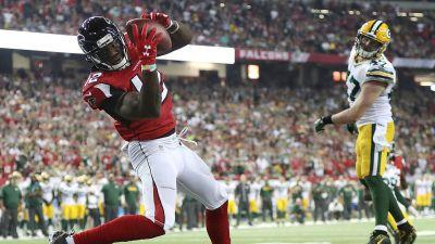 Falcons, Patriots favourites for NFL's conference championships