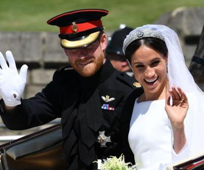OMG! It Looks Like Meghan Markle Spotted Her Old Drama Teacher in the Royal Wedding Crowd