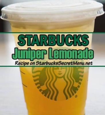 Juniper Lemonade | Starbucks Secret Menu