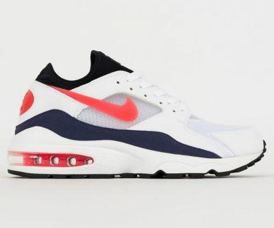 "Nike Air Max 93 Returns in OG ""Flame Red"""