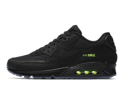 Nike Introduces KAWS-Like Air Max 90 in Black With Volt