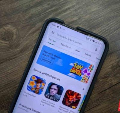 The Redesigned Play Store Is Hitting Devices Again