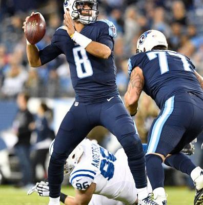 Titans 36, Colts 22: Marcus Mariota limited but triumphs in return from hamstring injury