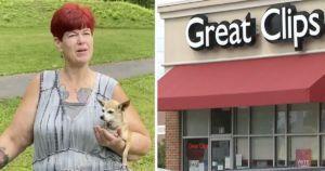 Hair Salon Shames Disabled Woman's Tiny Service Dog