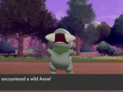 Where To Find Haxorus or Axew In Pokemon Sword & Shield