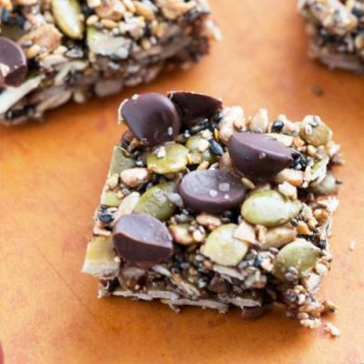 Sweet & Savory seed squares