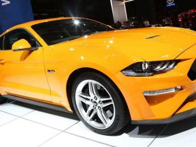 Europe's 2018 Ford Mustang Comes With More V8 Power, But Downgraded 4-Pot