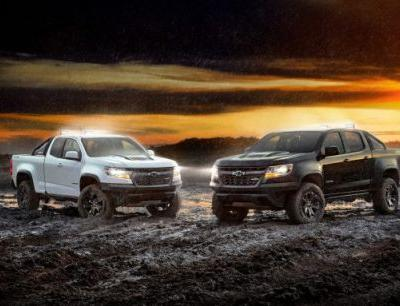 Chevrolet Prepares for the Long Night with 2018 Colorado ZR2 Midnight and Dusk Editions