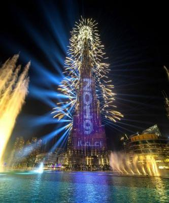 The UAE mesmerises the world with Emaar's spectacular New Year's Eve Gala 2019 in Downtown Dubai