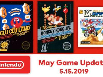 Every free NES game added to Nintendo Switch Online in May 2019