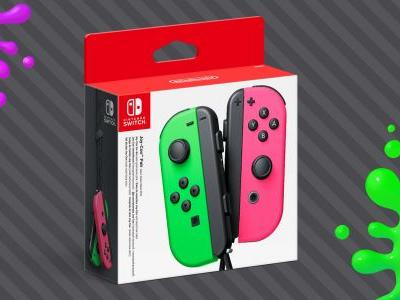 The Neon Pink/Green Joy-Con will be hitting store shelves this month