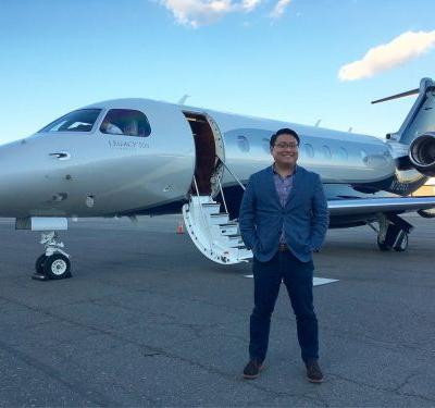 I flew on a $20 million Embraer Legacy 500 private jet and understand why Jackie Chan bought one