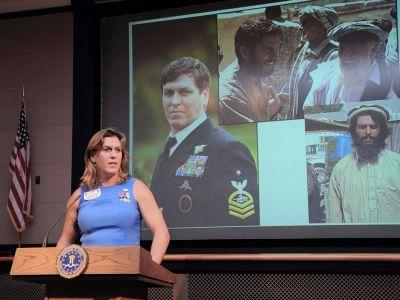Meet Kristin Beck, the transgender Navy SEAL hero fighting Trump's proposed trans ban