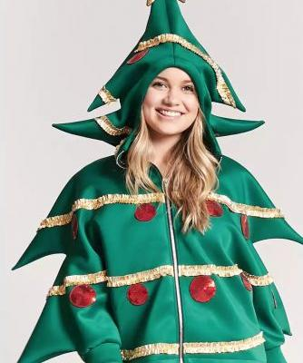 Santa Who? All Eyes Will Be on You in This $35 Christmas Hoodie From Forever 21