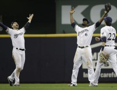 Brewers beat Dodgers 7-2, send NLCS to Game 7