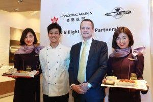 Hong Kong Airlines Partners With Gabriel Choy