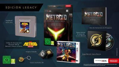 Metroid: Samus Returns has a fancy collector's edition in Europe