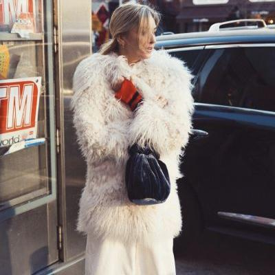Stay Warm This NYE in These Faux-Fur-Coat Outfits