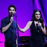 Aw! Lea Michele Was Brought to Tears by Darren Criss's Emmy Win