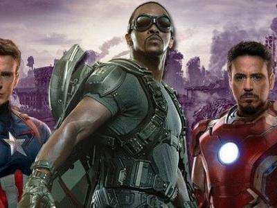 Early Infinity War Script Had Different Plans for Iron Man, Cap, & Falcon