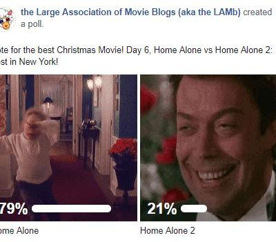 LAMBracket: Best Christmas Movie Play-Off 6 Results