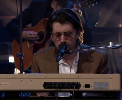 """Watch Arctic Monkeys Bring """"Four Out Of Five"""" To The Tonight Show"""