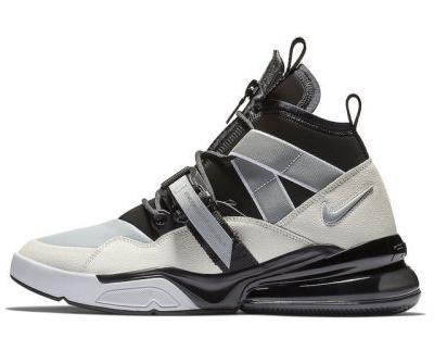 """Nike Set to Drop the Air Force 270 Utility in a Clean """"Black Sail"""" Colorway"""