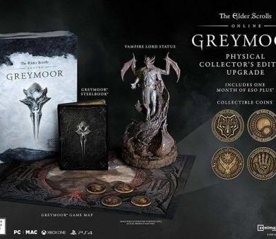 The Elder Scrolls Online: Greymoor collector's edition goes up for preorder