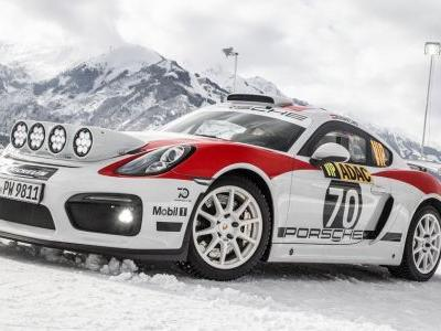 Porsche Is Going Back To Rallying With The Cayman GT4 Clubsport