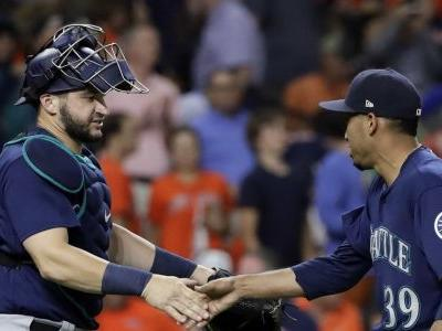 Day off? Not for Edwin Diaz when the Mariners have sweep of the Astros on the line