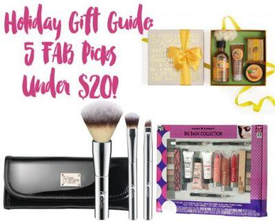 Holiday Gift Guide: 5 Fab Gift Ideas - $20 or Less!