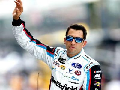 NASCAR at Kansas: Aric Almirola, Martin Truex Jr., 3 other top qualifiers move to back after failed inspection