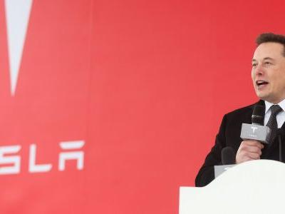 Elon Musk tells Tesla employees in leaked email that customer demand is still high, despite the stock crashing in recent weeks